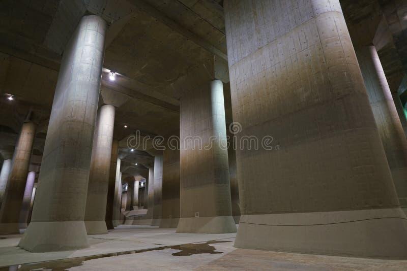 La Manche de décharge souterraine externe de zone métropolitaine photo libre de droits