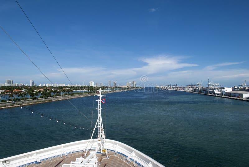 La Manche principale de Miami photographie stock libre de droits