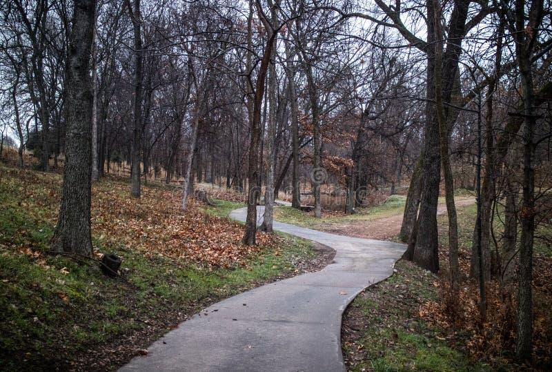 La manera del paseo fotografía de archivo libre de regalías