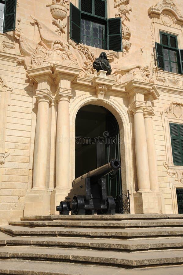 Auberge de Castille. La Valeta, Malta. fotos de archivo libres de regalías