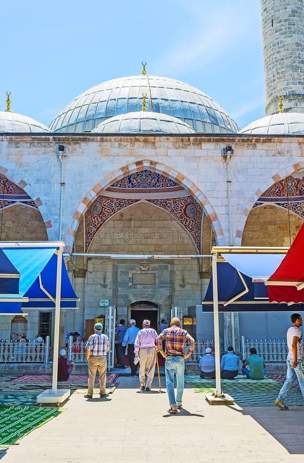 Download La Manera A La Mezquita, Antalya Fotografía editorial - Imagen de religión, casa: 100530742