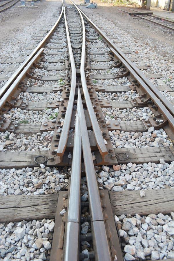 La manera remite el ferrocarril imágenes de archivo libres de regalías