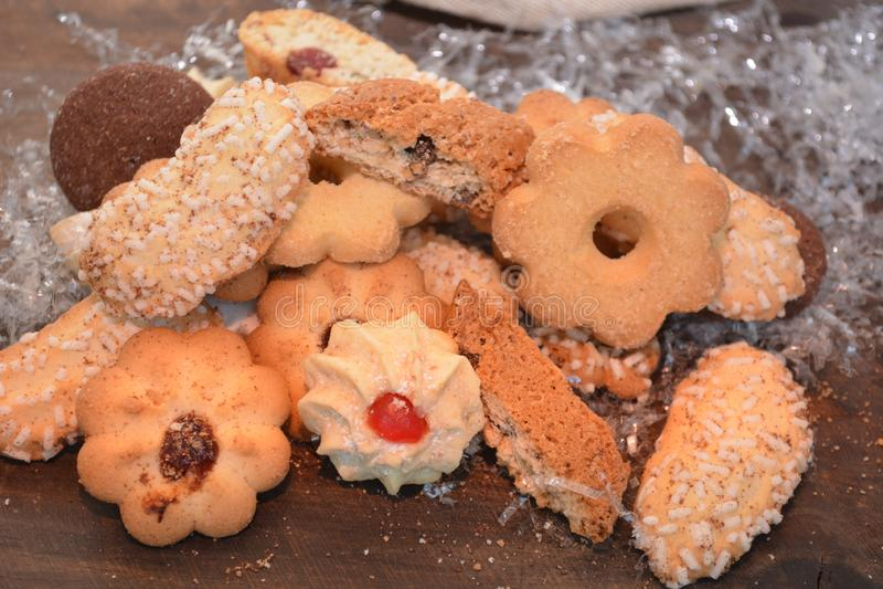 La mantequilla hecha en casa del chocolate caliente del cacao de la comida del postre de las galletas dulces come el restaurante fotos de archivo