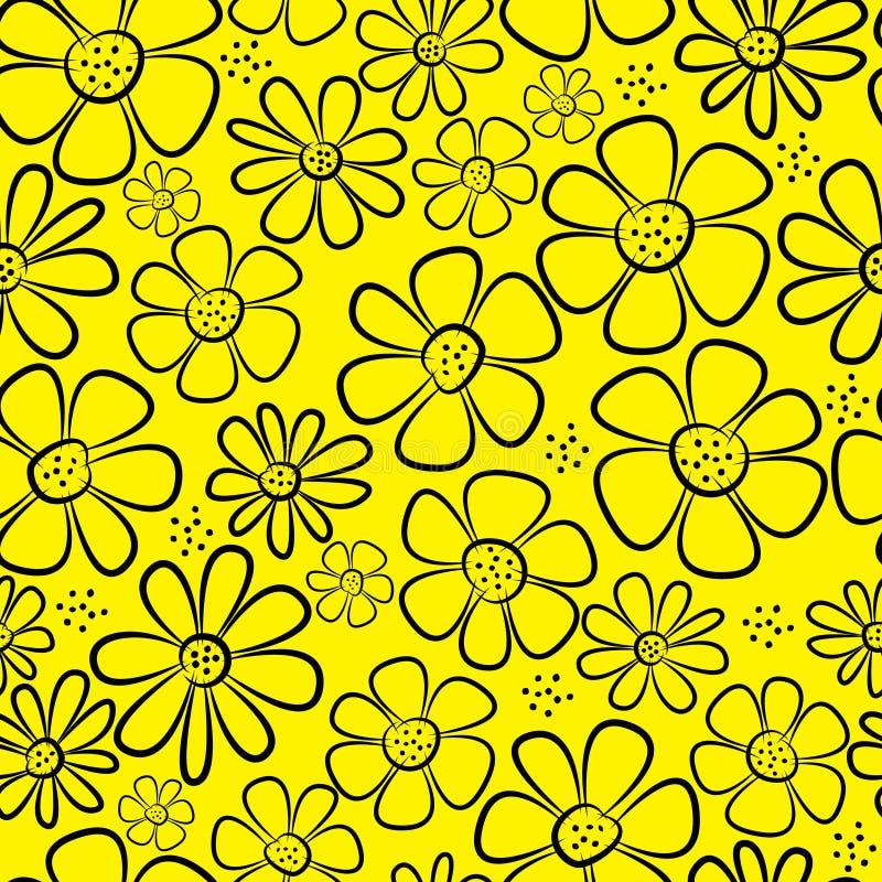 Download La Manzanilla Florece El Modelo Inconsútil Ilustración del Vector - Ilustración de hermoso, repetición: 42441643