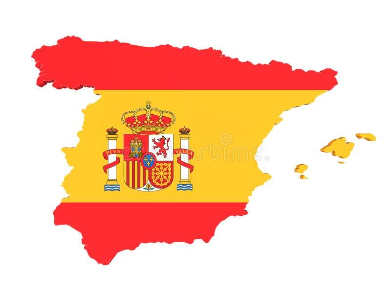 Cartina Spagna Catalogna.Mappa Della Catalogna E Della Spagna Isolata Illustrazione Di Stock Illustrazione Di Programma Separazione 101991849