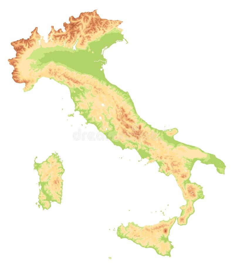 Cartina Fisica Italia Colline.L Italia Mappa Fisica Vista Satellite Mappa Rappresentazione 3d Illustrazione Di Stock Illustrazione Di Colline Sicilia 74665036