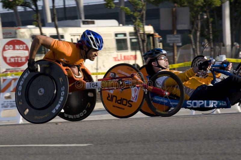 LA Marathon - Wheelchair Editorial Image