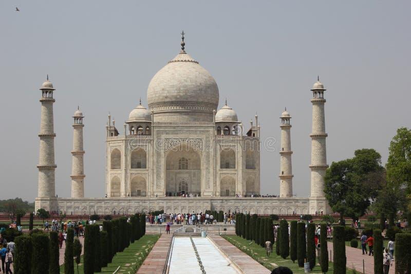 La maravilla de Taj Mahal del imperio de Mughal fotografía de archivo