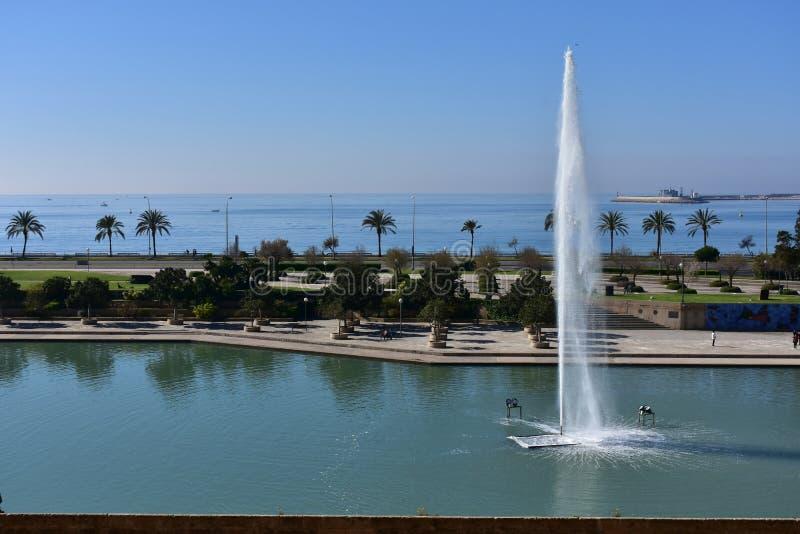 La marcha, Palma de Mallorca de Parc de fotos de archivo libres de regalías