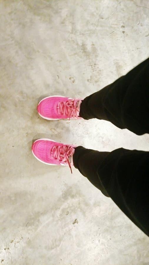 La marche est la meilleure cardio- séance d'entraînement image libre de droits