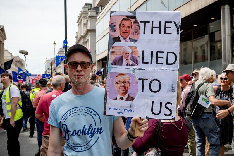 La marche pour un vote du ` s de personnes photographie stock
