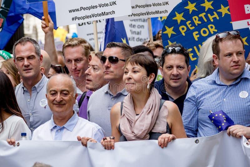 La marche pour un vote du ` s de personnes photos stock