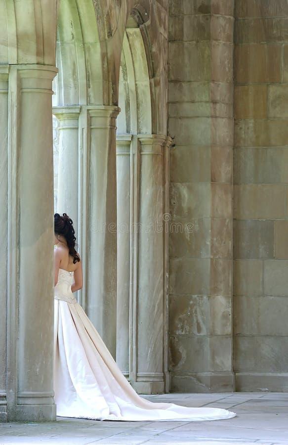 La mariée photographie stock libre de droits