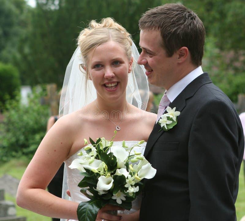 La mariée et le marié 3 photo libre de droits