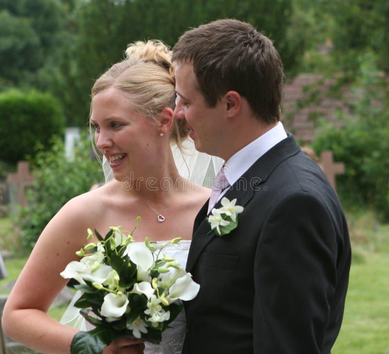 La mariée et le marié images stock