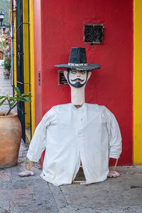 La marionnette géante a appelé le marmota Oaxaca, Mexique photo stock