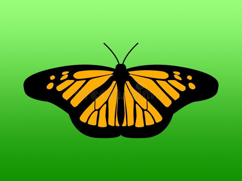 La mariposa ilustración del vector