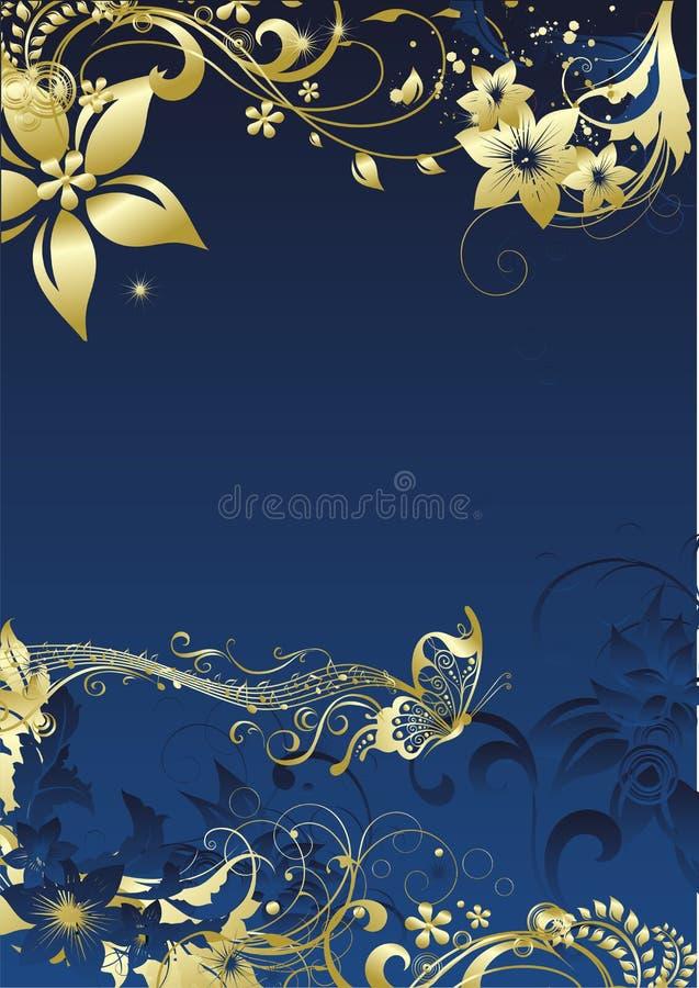 La mariposa musical imagen de archivo