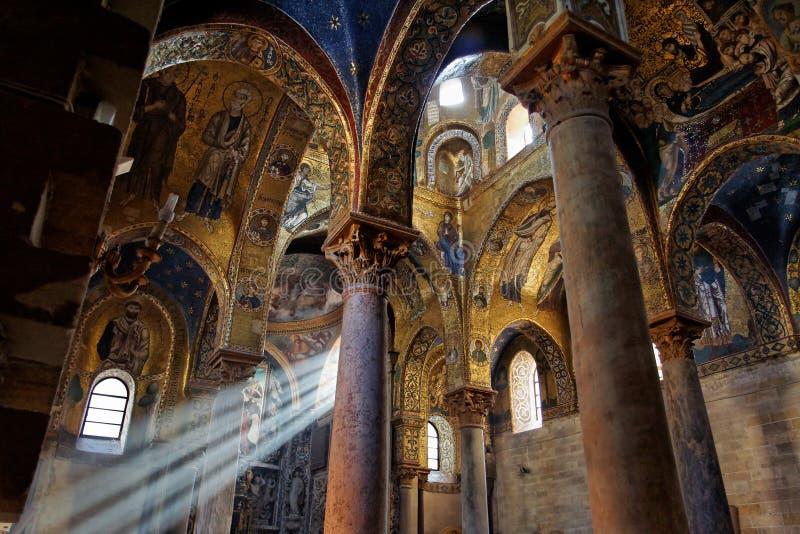 La Martorana Church Sicily Italy royalty free stock photography