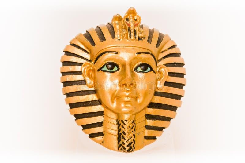 La mascherina dell'oro fotografie stock libere da diritti