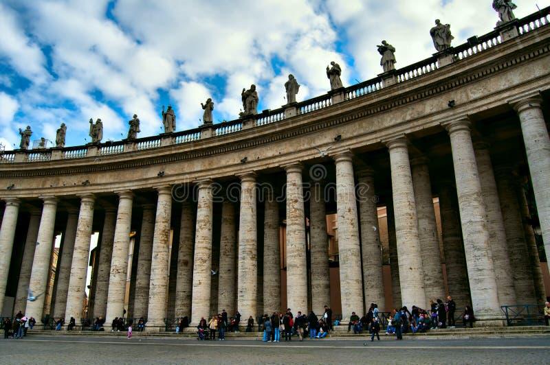 La massa di Vatican immagine stock