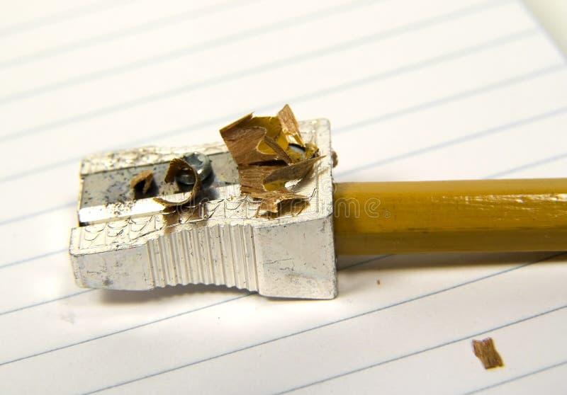 La matita ha affilato 2 immagine stock libera da diritti