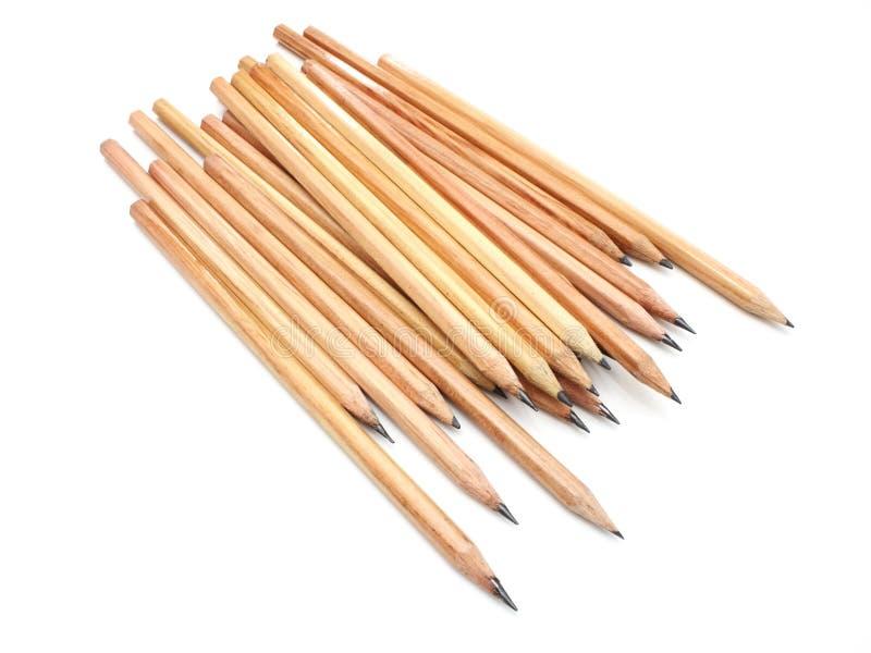 La matita a terra gialla fotografie stock libere da diritti