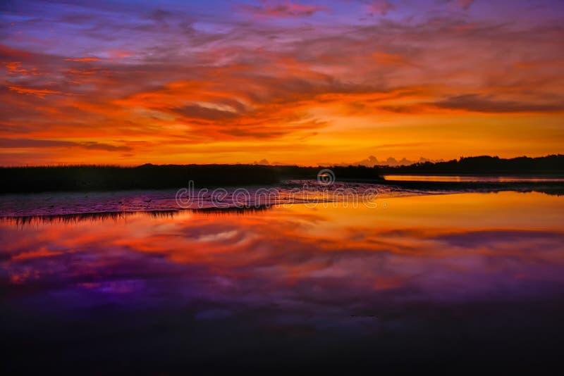 La mattina a colori fotografie stock libere da diritti