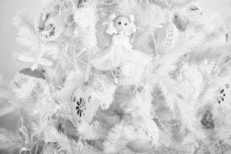La mattina prima di natale Festa di nuovo anno Nuovo anno felice Buon Natale e feste felici Natale Bello immagini stock