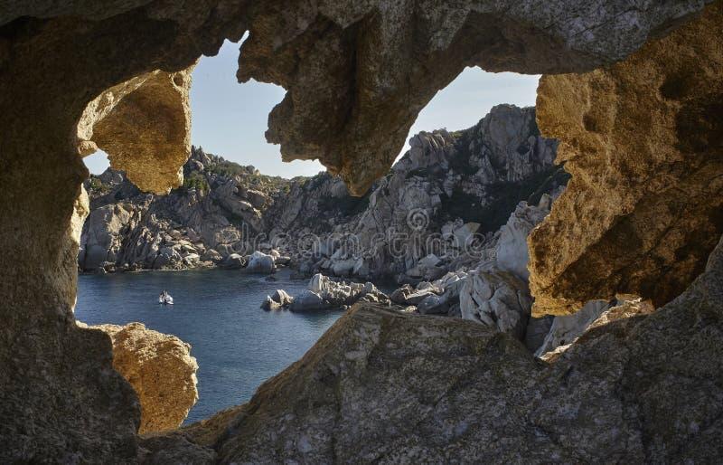 La mayoría de la hermosa vista de la costa imagen de archivo libre de regalías