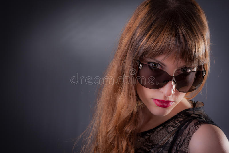 La mayoría de la mujer atractiva fotografía de archivo
