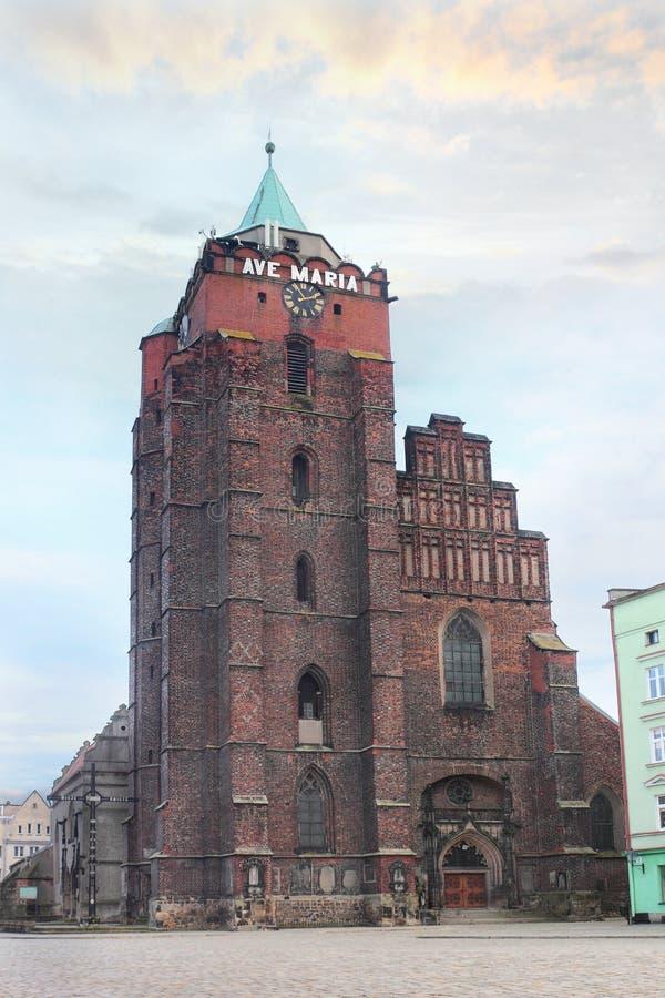La mayoría de la señal reconocida en Chojnow Polonia fotos de archivo libres de regalías