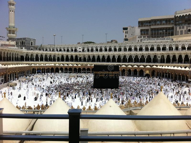 La Meca de Haram fotografía de archivo libre de regalías