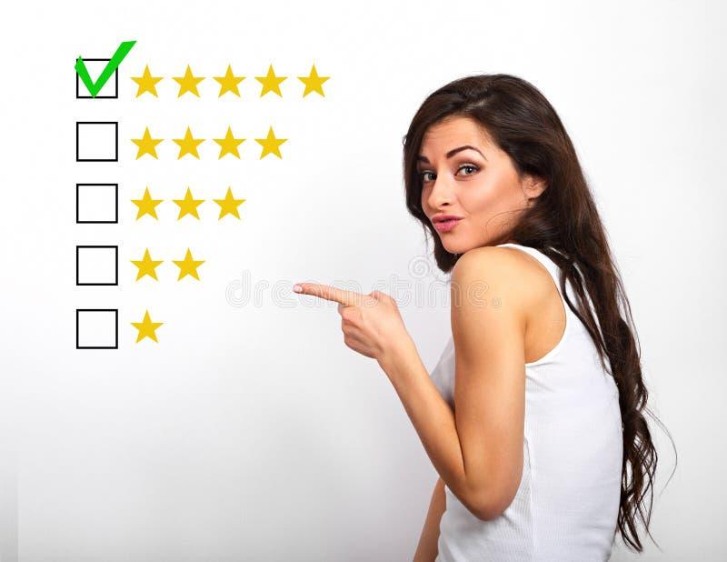 La meilleure estimation, évaluation, rewiew en ligne Affaires h sûr image stock