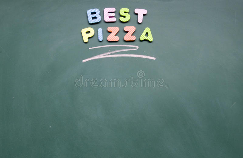 La meilleure pizza image libre de droits