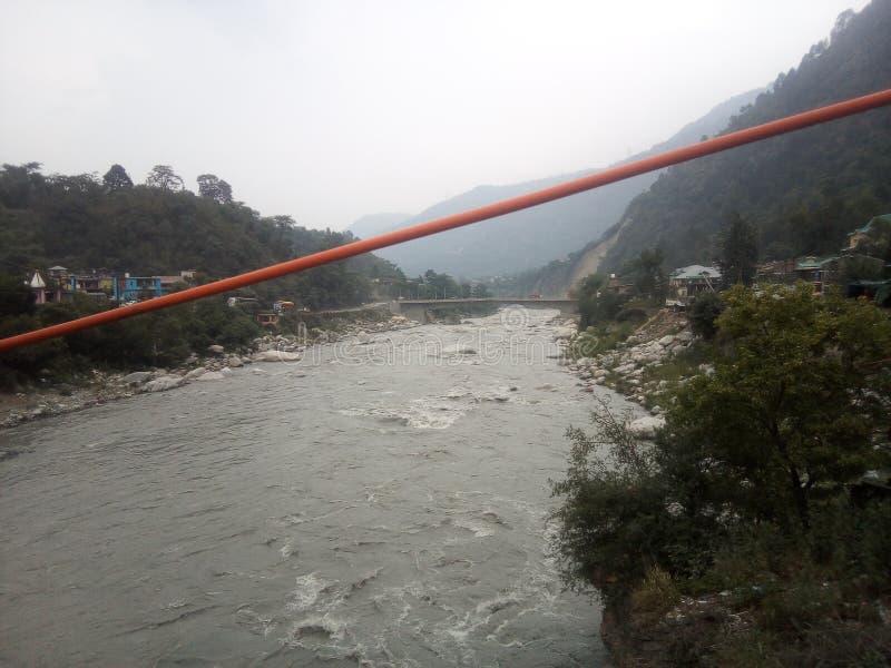 La meilleure vue de rivière de Ravi photos libres de droits