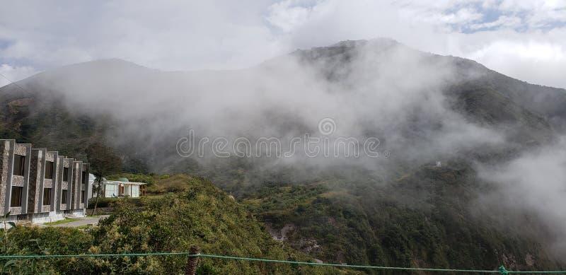 La meilleure vue de volcan de l'Equateur photos libres de droits