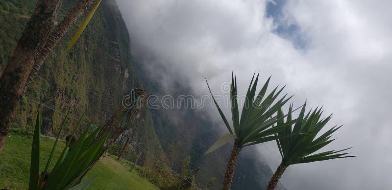 La meilleure vue de volcan de l'Equateur photographie stock libre de droits