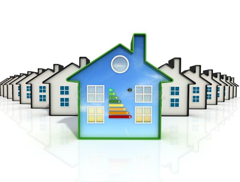 La mejor casa ilustración del vector