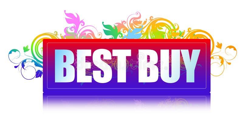La mejor compra stock de ilustración