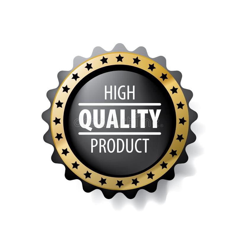 La mejor muestra del vector del producto de calidad en el fondo blanco libre illustration