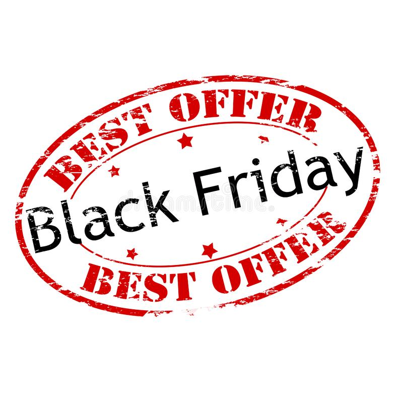 La mejor oferta Black Friday libre illustration