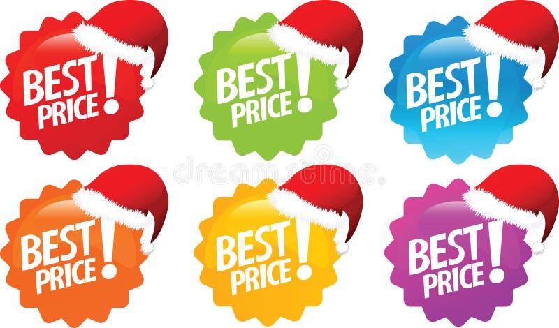 La mejor oferta del precio ilustración del vector