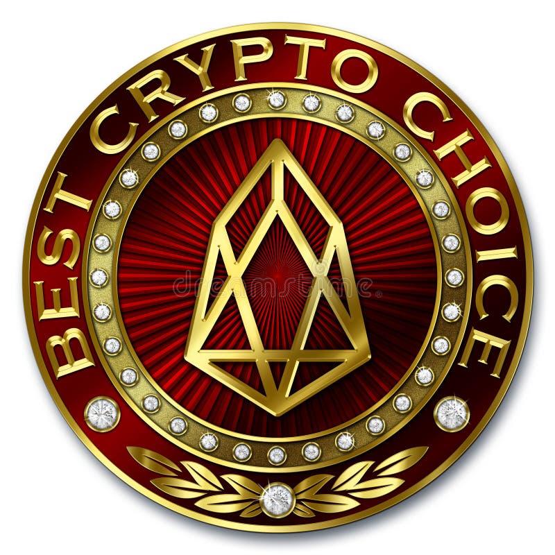 La mejor opción Crypto - FOE stock de ilustración