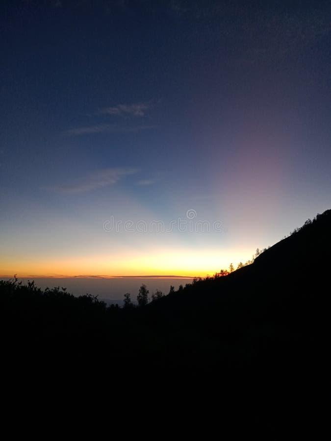 La mejor sol del banyuwangi Indonesia imagenes de archivo