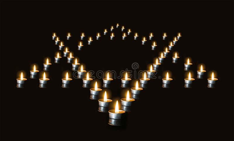 La memoria de las víctimas del holocausto fotos de archivo