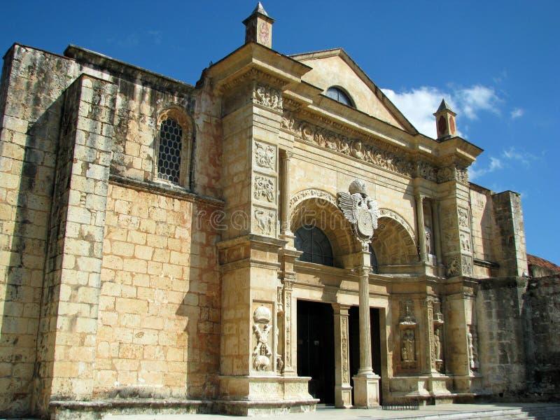 La Menor de Santa Maria da catedral em Santo Domingo fotografia de stock royalty free