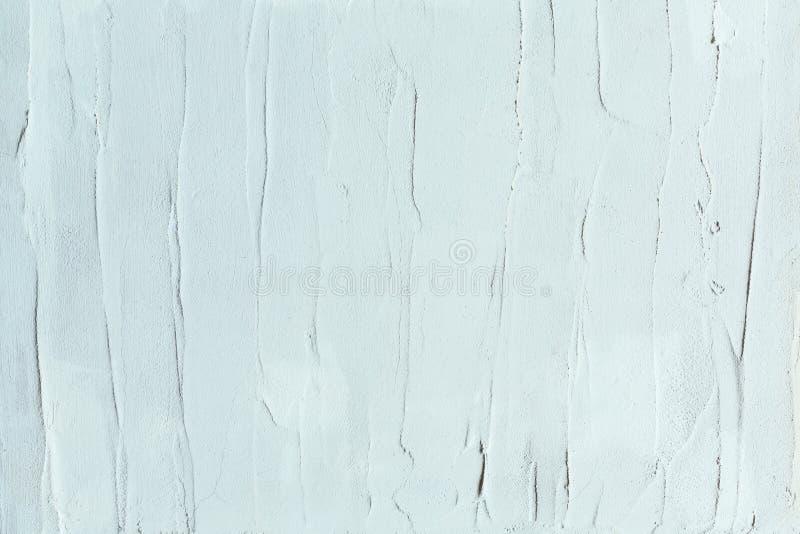 la menta ligera pintó textura con los movimientos del cuchillo del cepillo y de paleta para los fondos interesantes y modernos Co fotografía de archivo libre de regalías