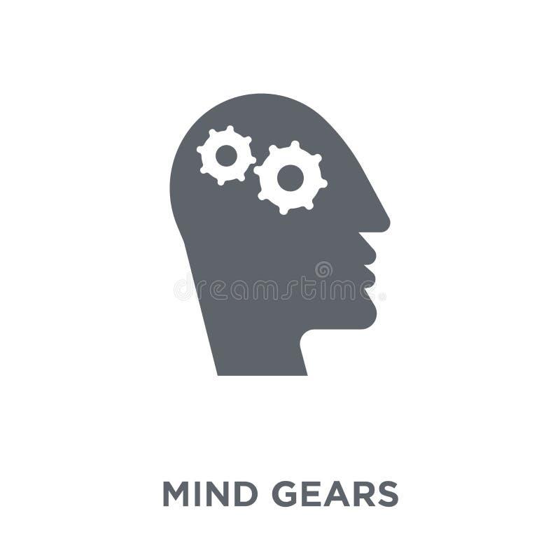 La mente adapta el icono de la colección de la productividad libre illustration