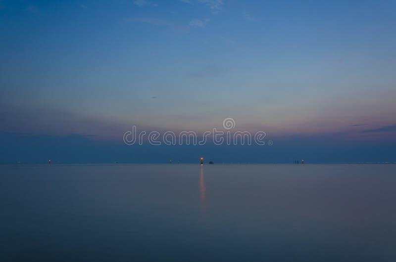 La mer calme photo stock
